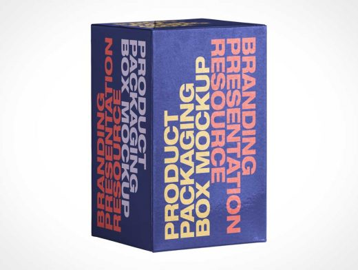 Giftbox Product Packaging PSD Mockup
