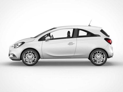 Opel Corsa Car PSD Mockup