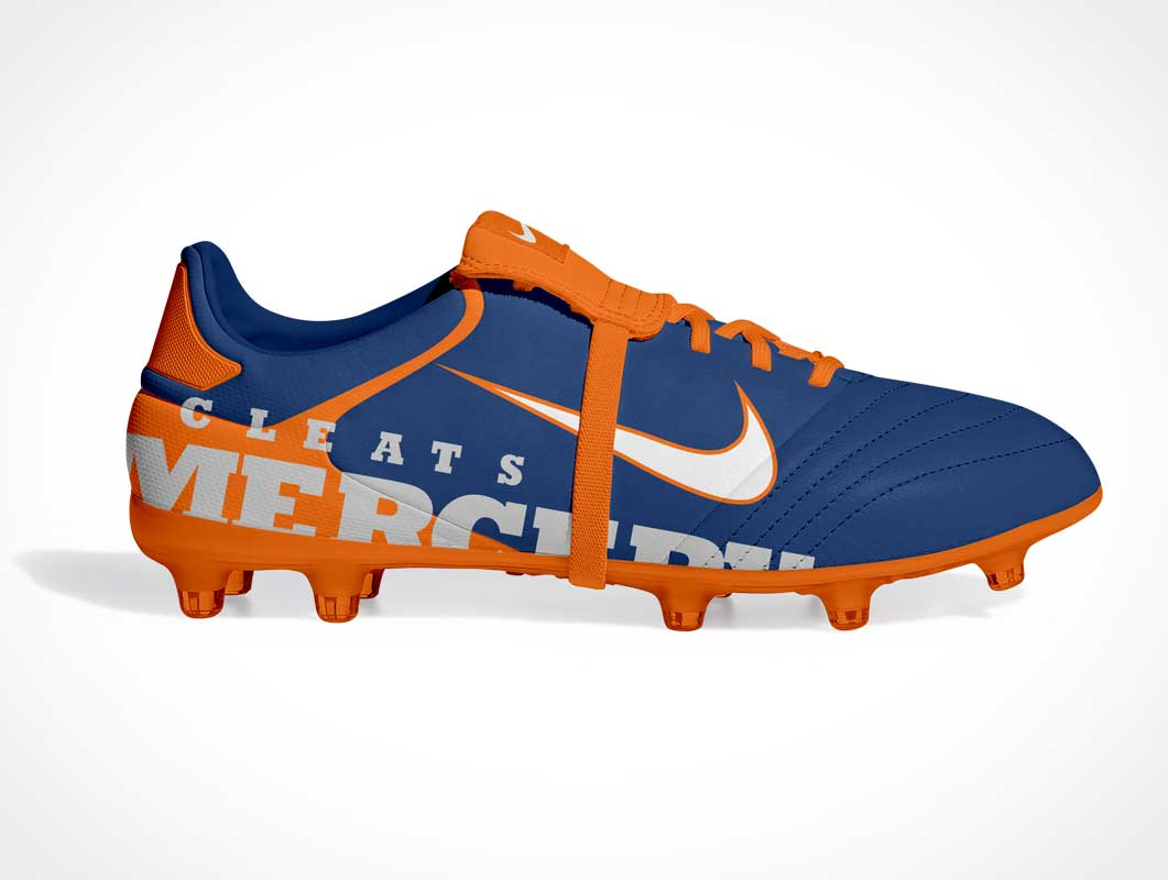 Soccer Football Cleats PSD Mockup