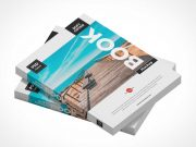 Softcover Book Bundle PSD Mockup