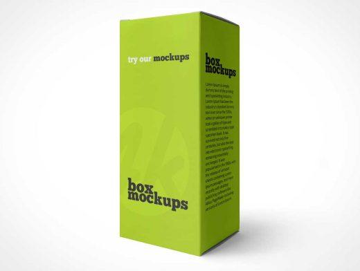 Medicine Box Packaging PSD Mockups