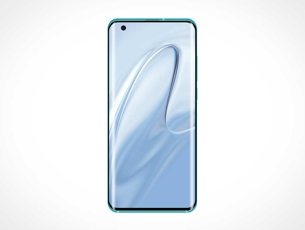 Xiaomi MI 10 Android Smartphone PSD Mockup