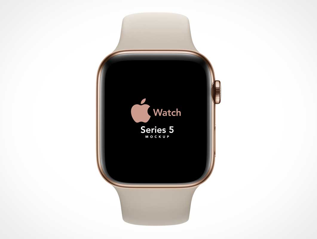Apple iWatch Series 5 PSD Mockup