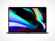 MacBook Pro 16 Inch Laptop PSD Mockup