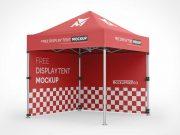 Trade Show Event Display Tent PSD Mockup