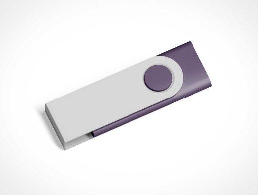 USB Flash Thumb Drive PSD Mockup