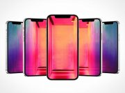 iPhone Pro 12 Product Hero PSD Mockup