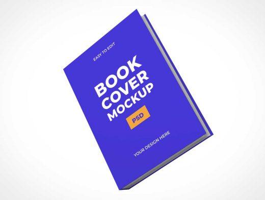 Balancing Hardcover Book PSD Mockup