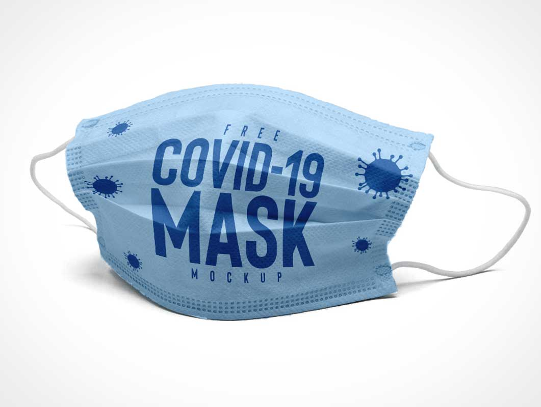 Medical Mask PSD Mockup