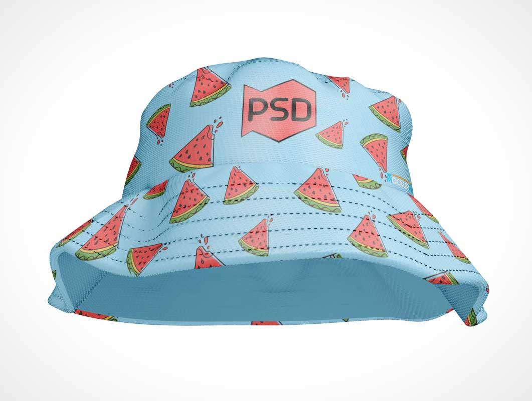 Bucket Hat PSD Mockup