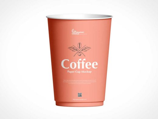 Paper Drink Cup PSD Mockup