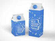 Tetra Pak Beverage Carton PSD Mockup