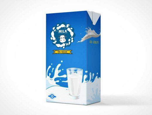 Tetra Pak Drink Box PSD Mockup