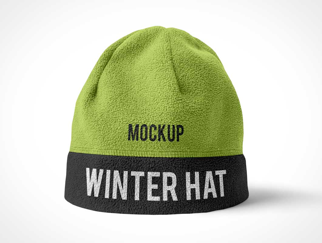 Tuque Beanie Hat PSD Mockup