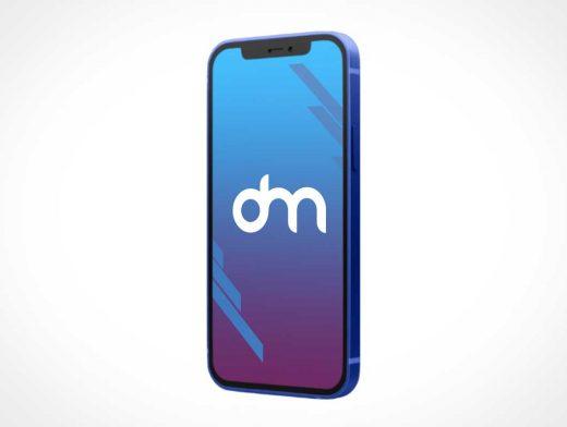 iPhone 12 Mini PSD Mockup