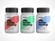 Packer Pill Bottle PSD Mockups