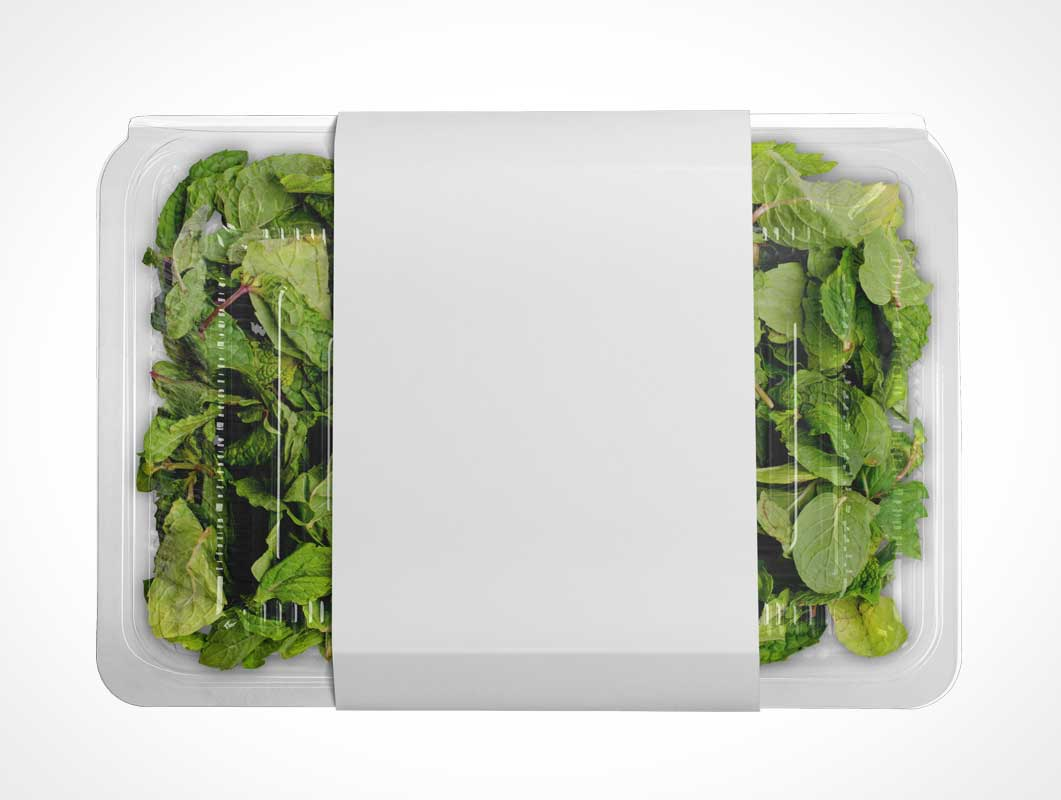 Clear Letus Salad Packaging PSD Mockups