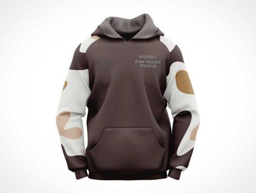 Men's Hoodie Sweatshirt Clothing PSD Mockups