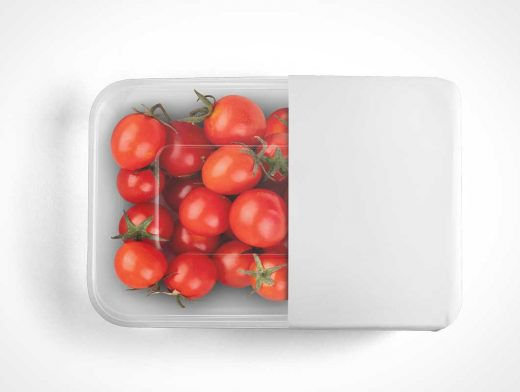 Tomato Clear Packaging PSD Mockups