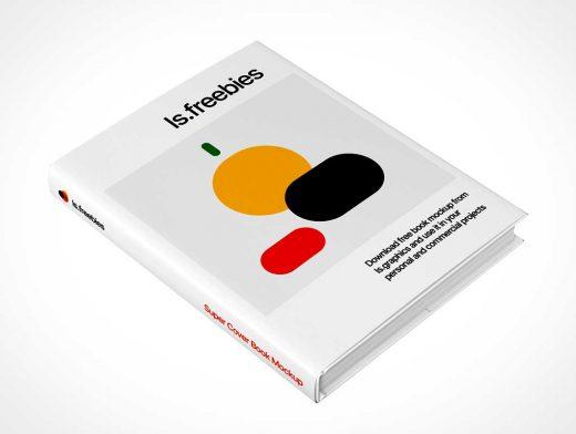 Hardcover Book & Sleeve Jacket PSD Mockups
