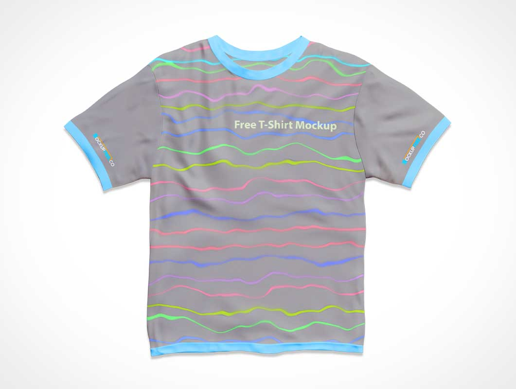 T-Shirt Clothing PSD Mockups