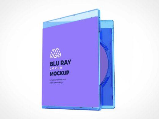 Blu-Ray Cover Jewel Case PSD Mockups