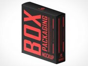 Product Box Packaging PSD Mockups