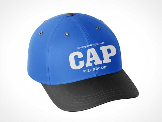 Snapback Baseball Cap PSD Mockups