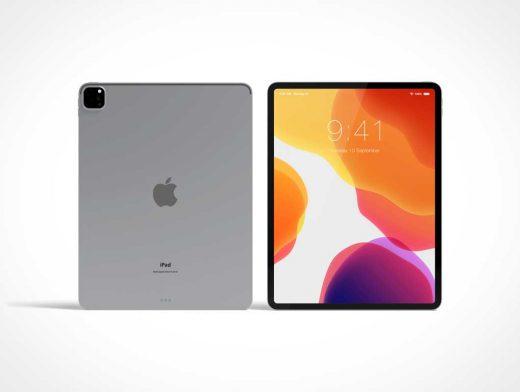 iPad Pro Mobile Tablet PSD Mockups