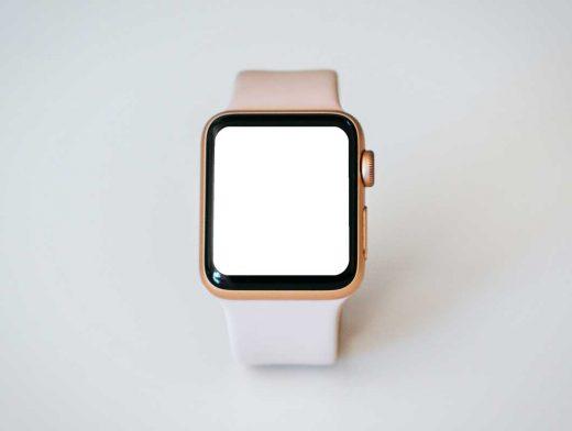 Apple iWatch & Wristband PSD Mockups