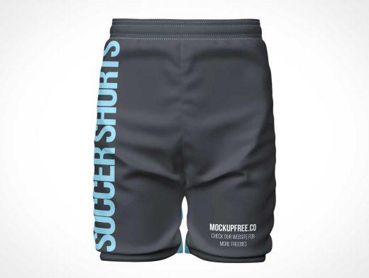 Branded Sports Shorts PSD Mockups