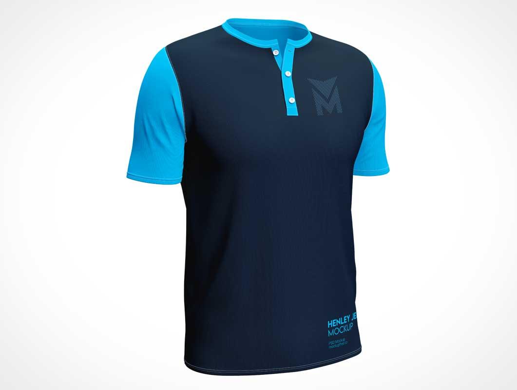 Jersey T-Shirt PSD Mockups