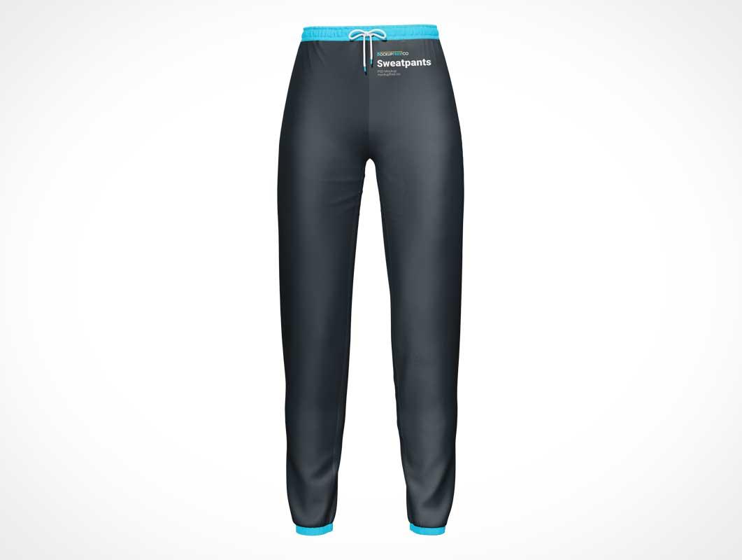 Woman's Sport Sweatpants PSD Mockups